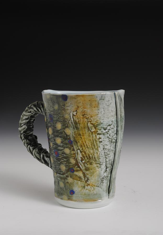 Fish Sculpture - Fish Mug  by Mark Chuck