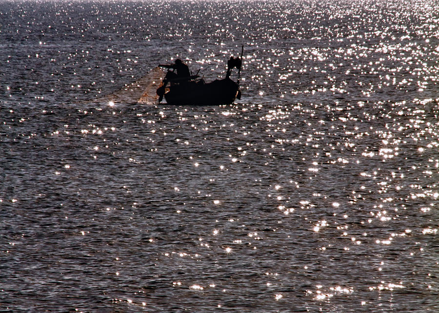 Adventure Photograph - Fisherman by Stelios Kleanthous