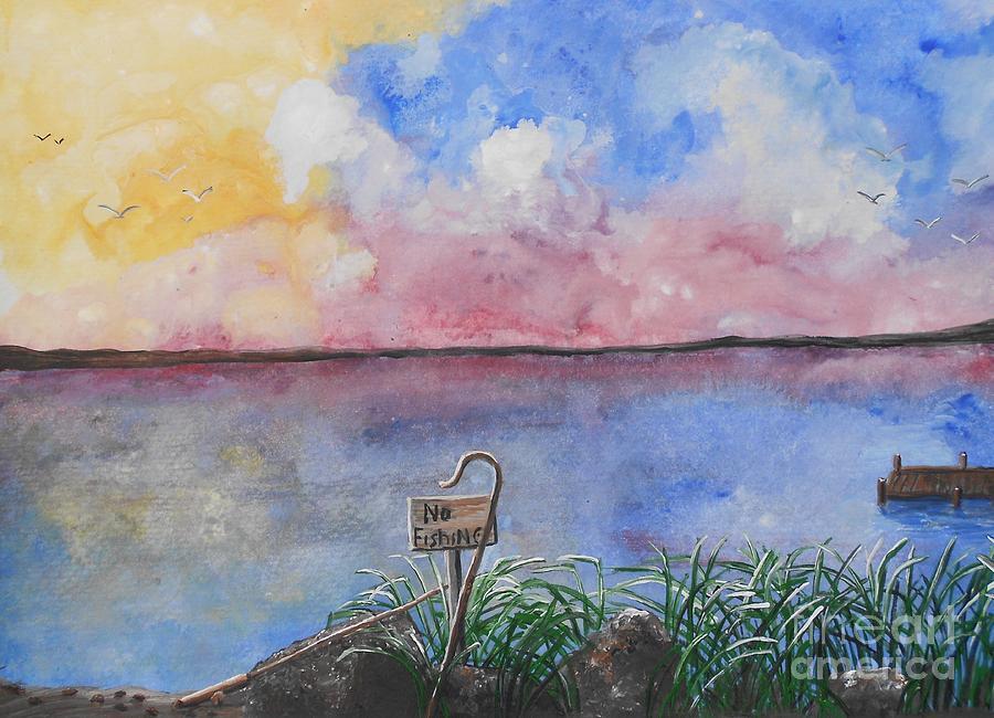 Barbara Mcneil Artwork Painting - Fishers Of Men by Barbara McNeil