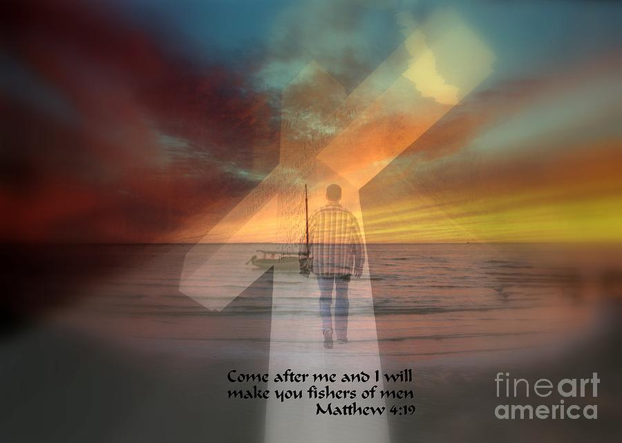 Religious Photograph - Fishers Of Men by Rick Rauzi