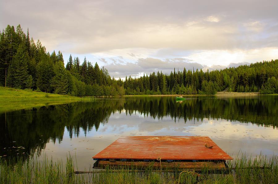 Fishing Photograph - Fishing A Mirror by John  Greaves