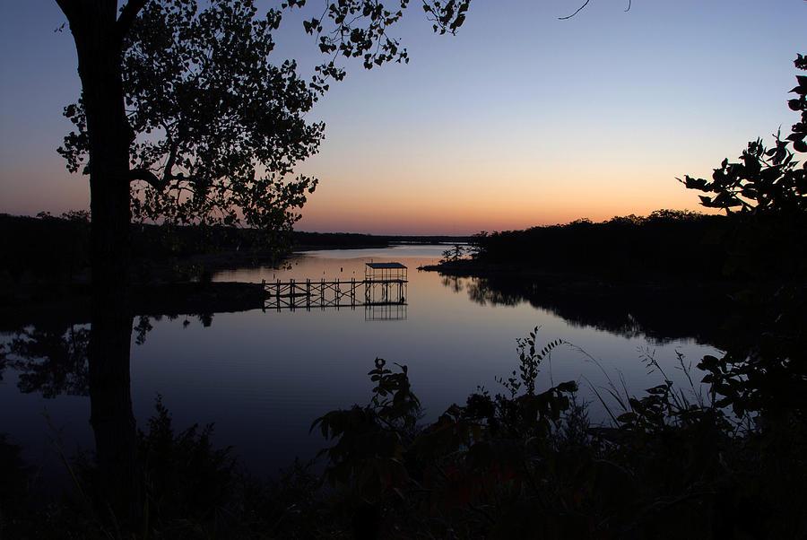 Fishing Pier Photograph - Fishing Pier At Dawn by Cindy Rubin
