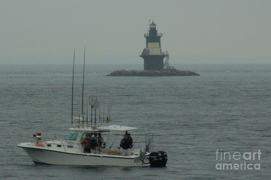 Cloudy Photograph - Fishing Weather by Meandering Photography