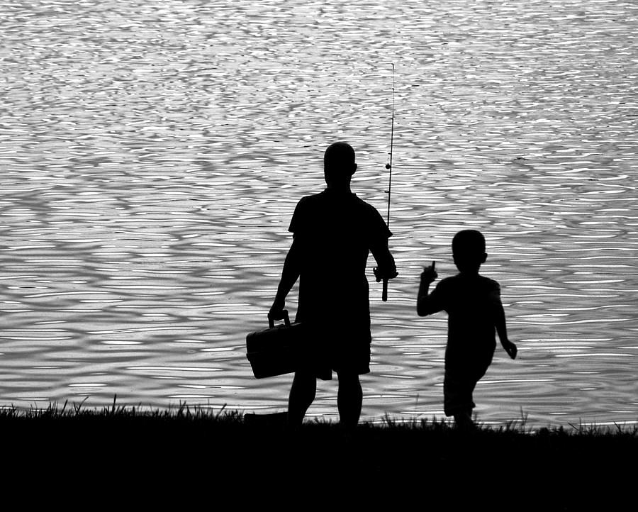 Grip on sports here 39 s a fishing story about the son who for Father son fishing