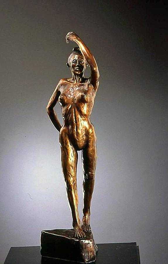 Original Figurative Sculpture Sculpture - Flamenco Dancer by Eduardo Gomez
