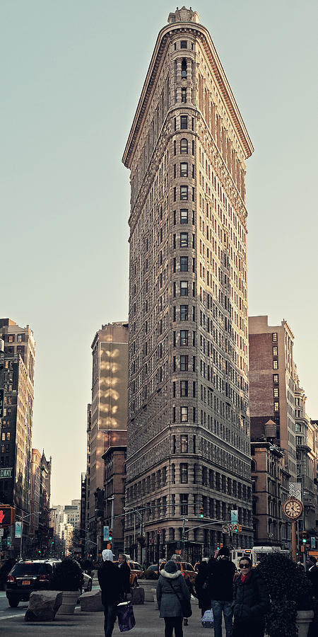 New York City Photograph - Flat Iron Building by Benjamin Matthijs