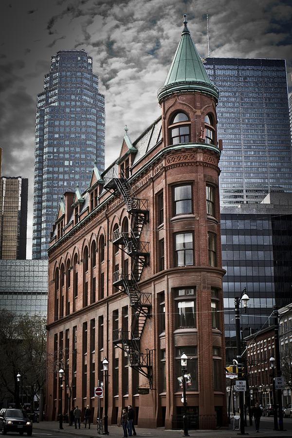 Toronto Photograph - Flat Iron by Milan Kalkan