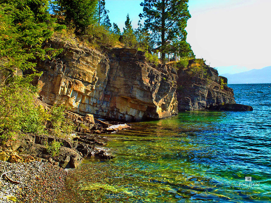 Flathead Lake Montana Photograph by Russ Harris