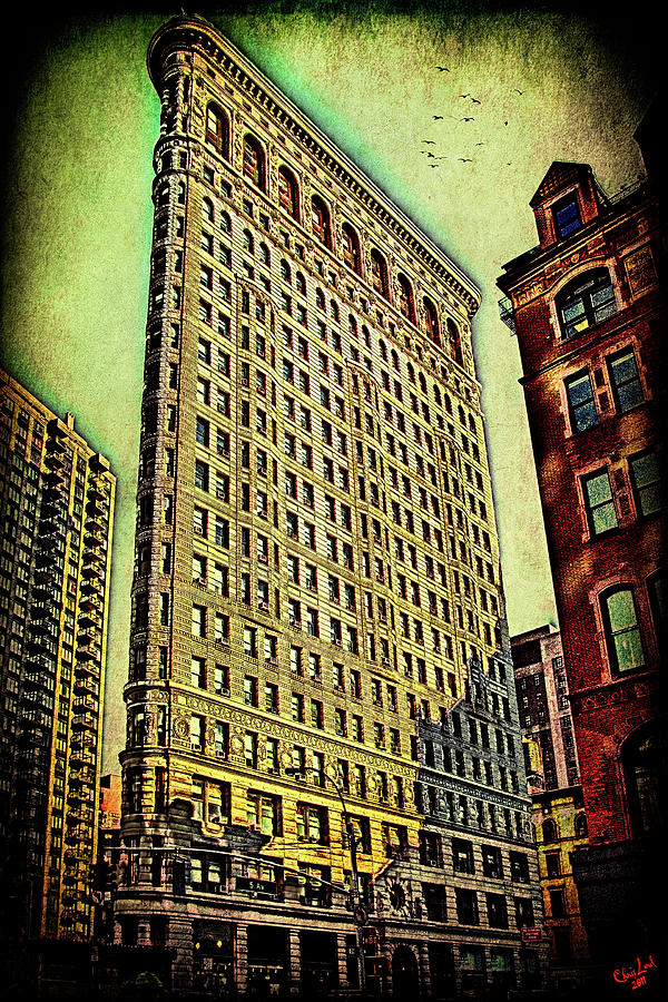 Flatiron Photograph - Flatiron Building Again by Chris Lord