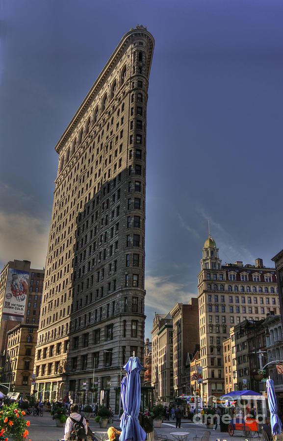 Flatiron Building Photograph - Flatiron by David Bearden