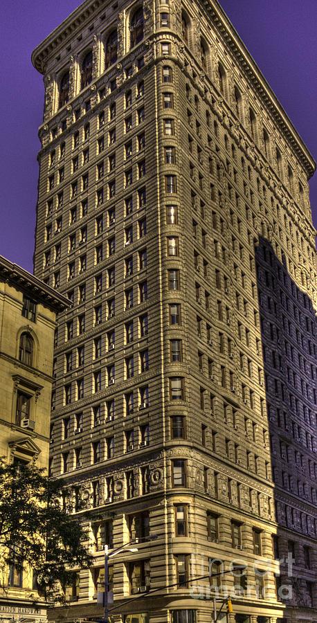 Flatiron Photograph - Flatiron On Broadway by David Bearden