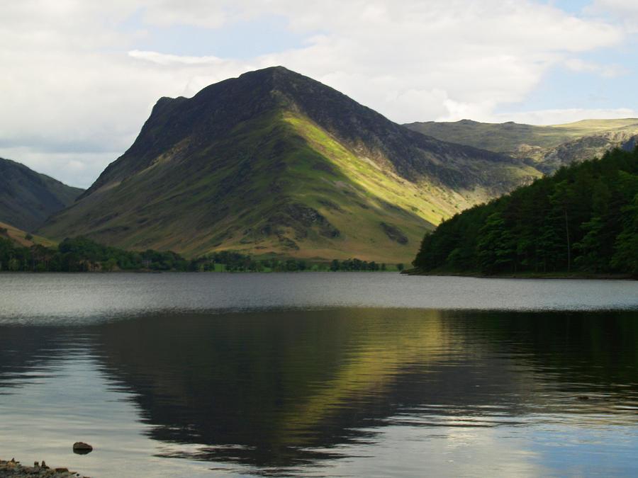 Mountain Photograph - Fleetwith Pike by Steve Watson