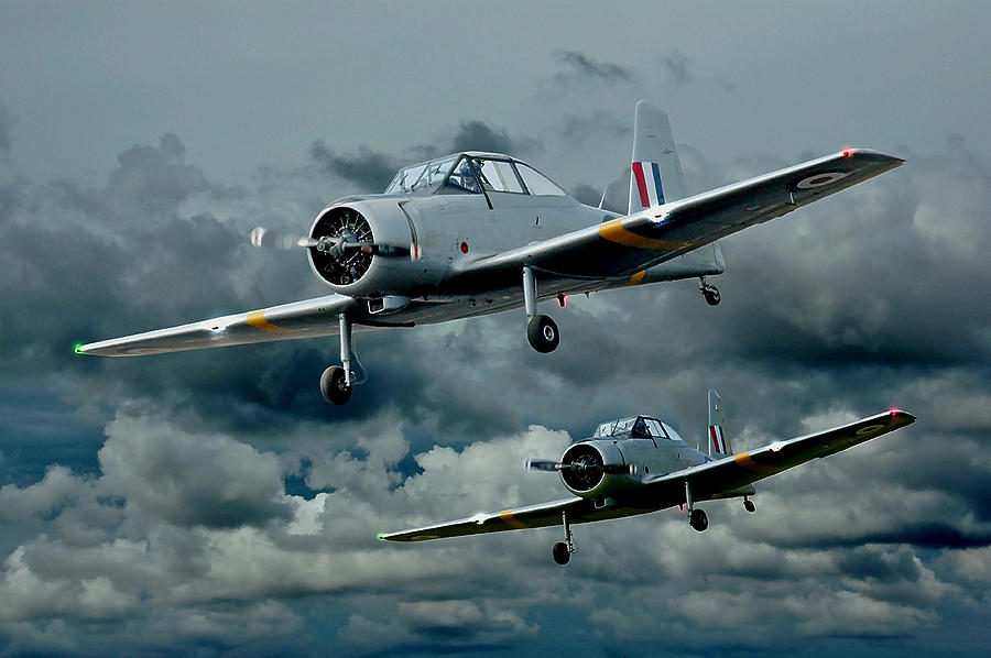 Planes Photograph - Flight Of The Winjeels by Steven Agius