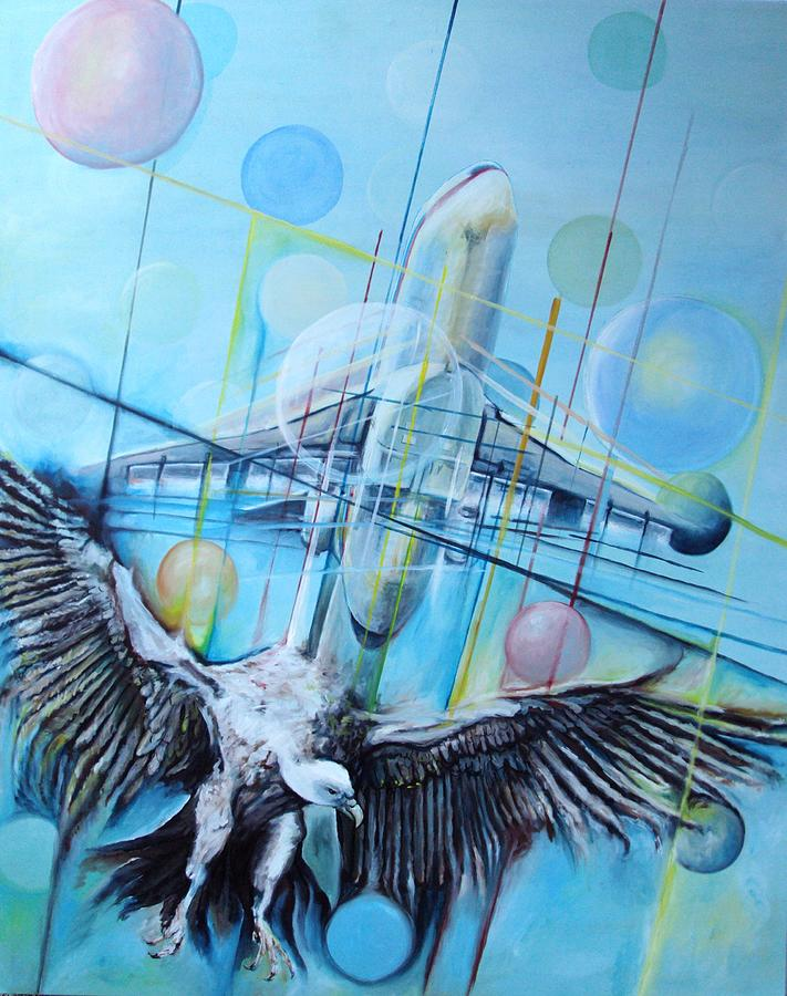 Flight Painting by Rust Dill