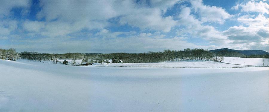 Snow Photograph - Flint Hill by Jan W Faul