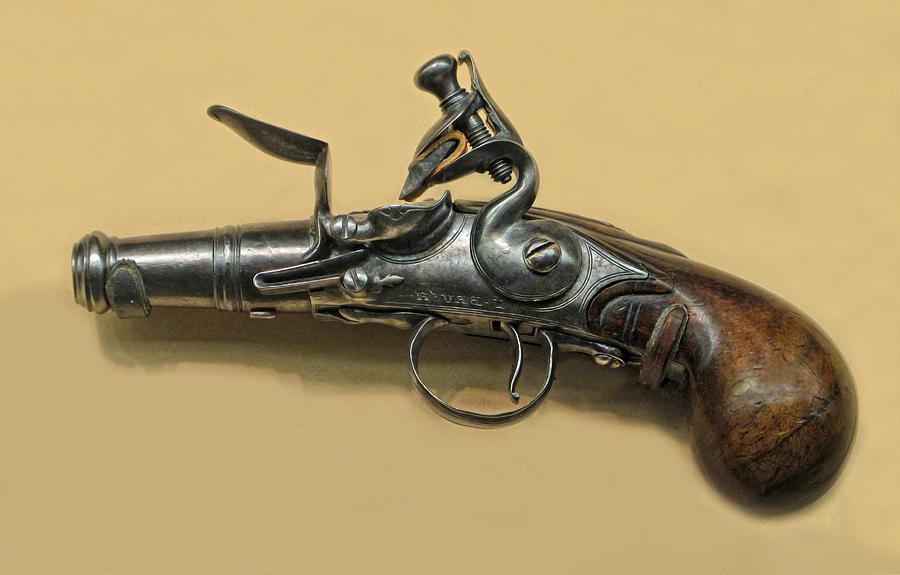 Flintlock Photograph - Flintlock Pistol by Dave Mills