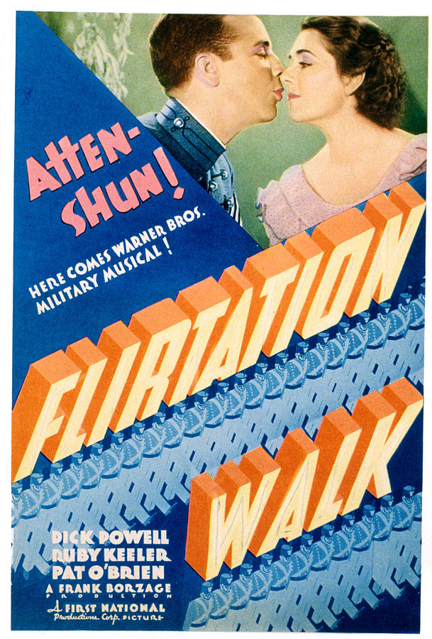1930s Movies Photograph - Flirtation Walk, Dick Powell, Ruby by Everett