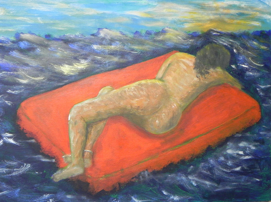 Float To Freedom Painting by Ernie Goldberg