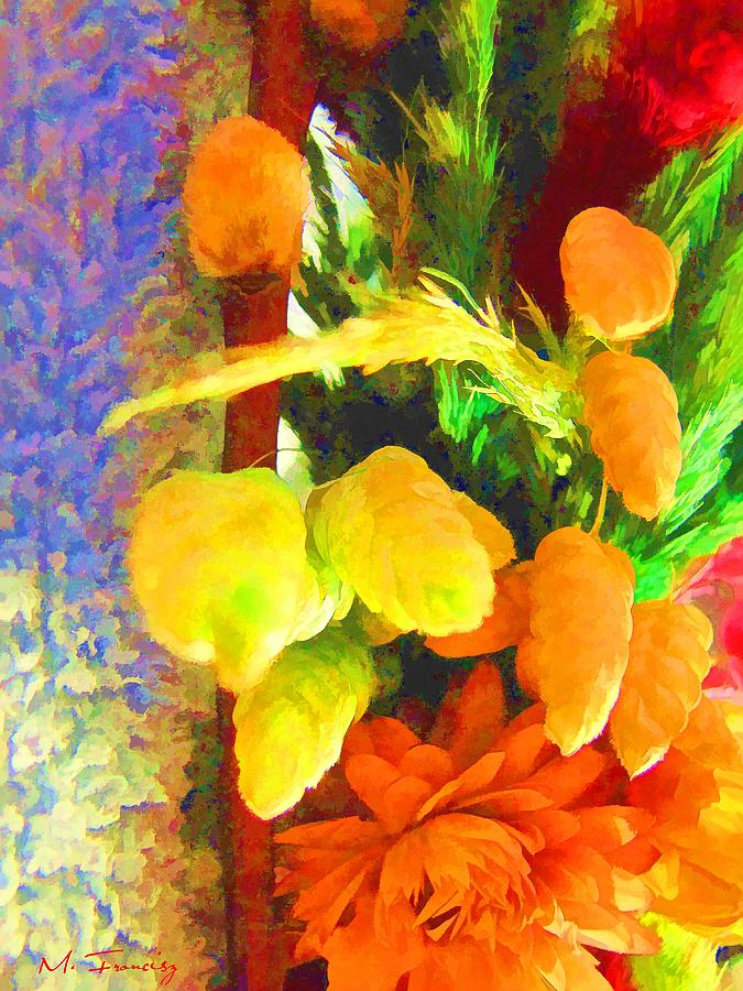 Floral Painting - Floral Delights 2095 by Maciek Froncisz