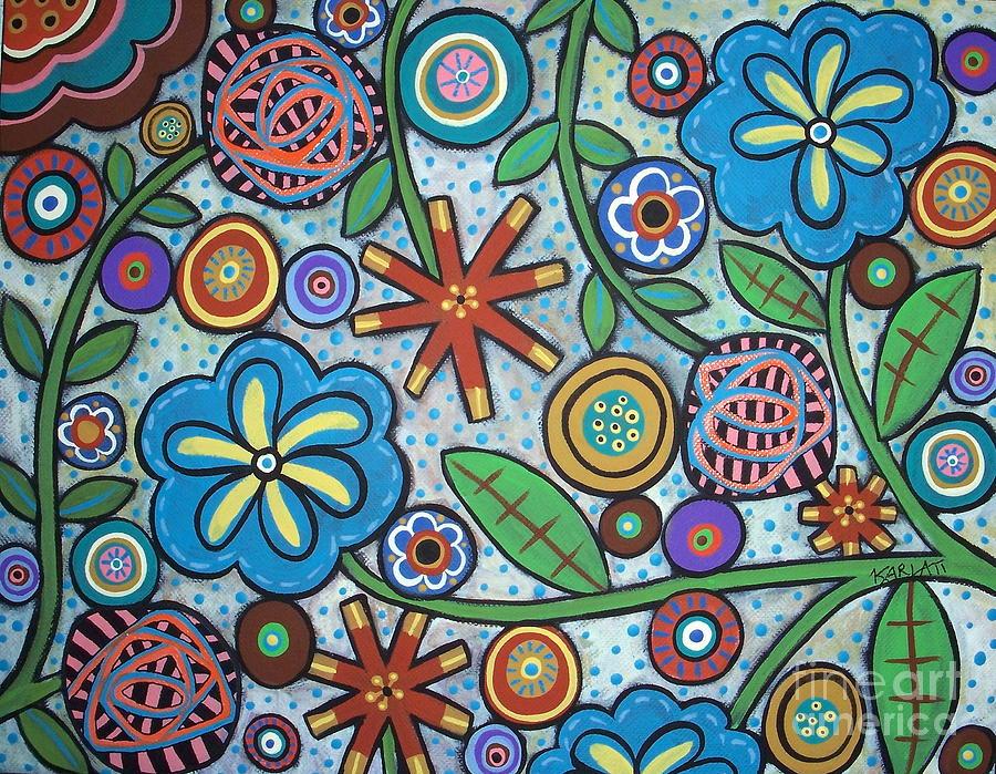 Примитивные картинки цветов