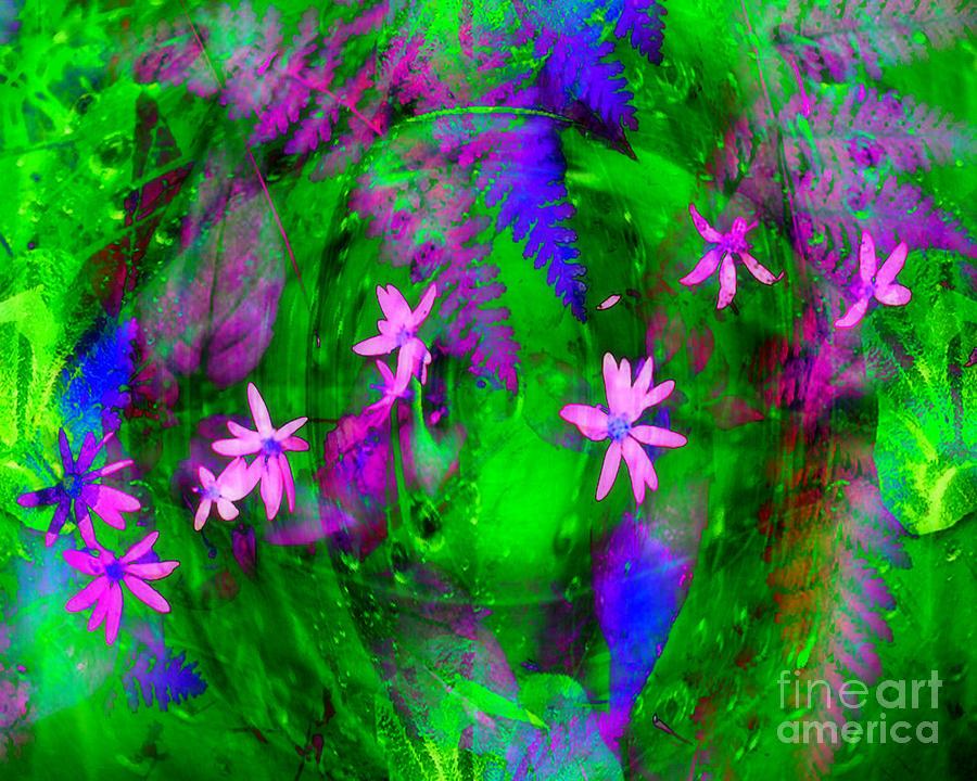 Floral Digital Art - Floral Medley by Ruth Kongaika
