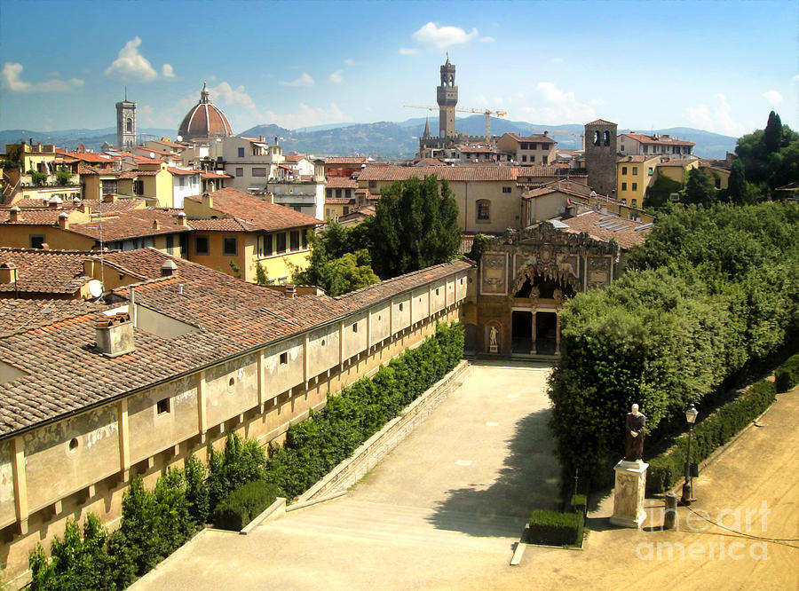 Florence Italy Photograph - Florence Italy - Pitti Palace - 02 by Gregory Dyer