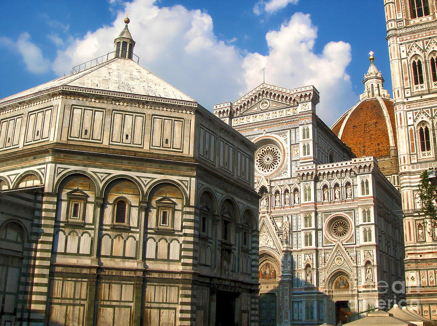 Florence Italy Photograph - Florence Italy - Santa Maria Del Fiore by Gregory Dyer