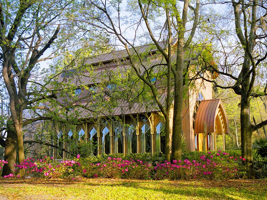 Gainesville Photograph - Florida The Baughman Center by Russell Grace