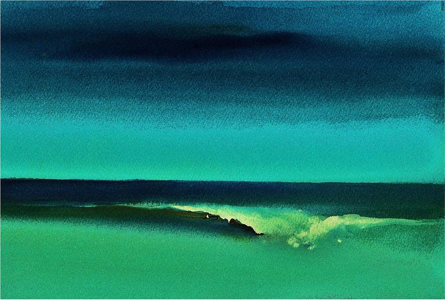 Florida Painting - Florida Wave by Rob M Harper