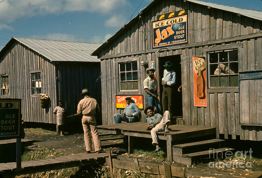 1941 Photograph - Florida: Workers, 1941 by Granger