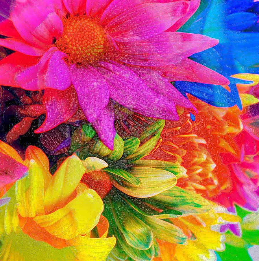 Jerry Cordeiro Framed Prints Photographs Photograph - Flower Box by Empty Wall