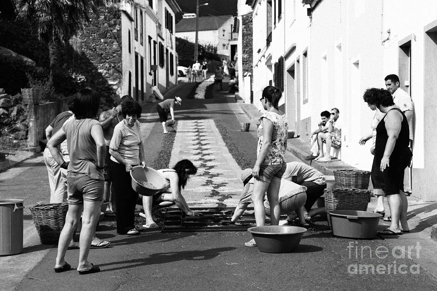 Portugal Photograph - Flower Carpets by Gaspar Avila