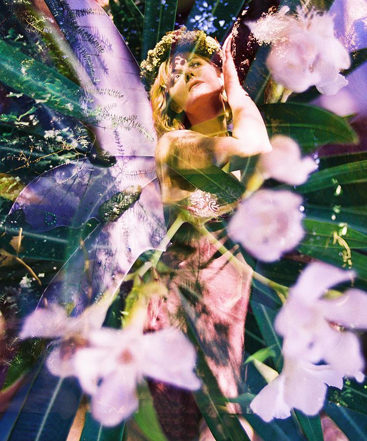 Flower Faerie Dreams Photograph by Cyoakha Grace