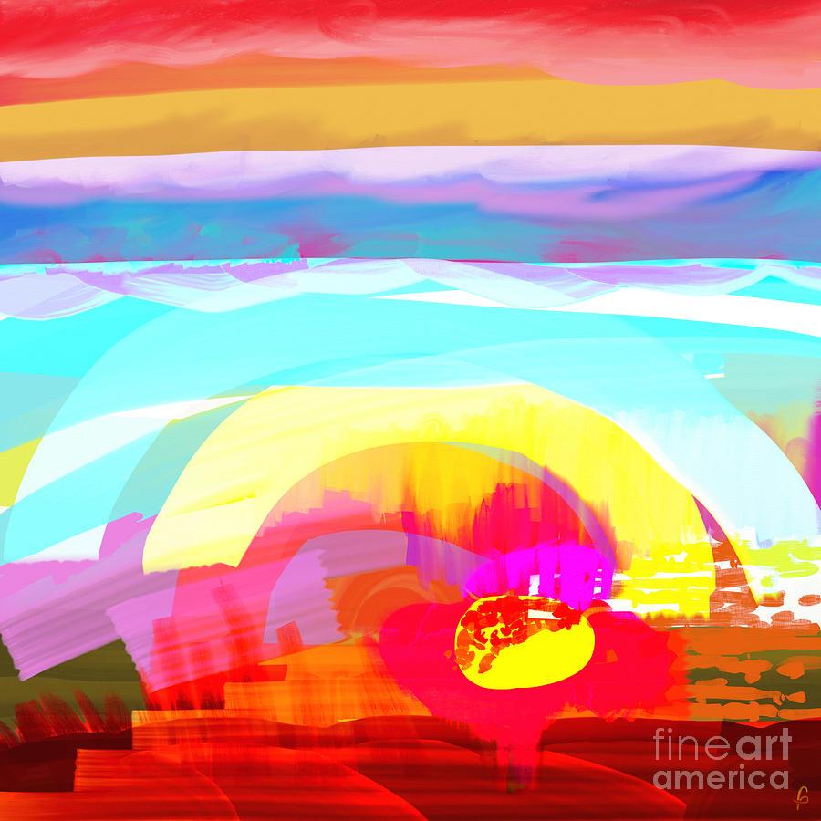 Flower Digital Art - Flower Impact by MURUMURU By FP