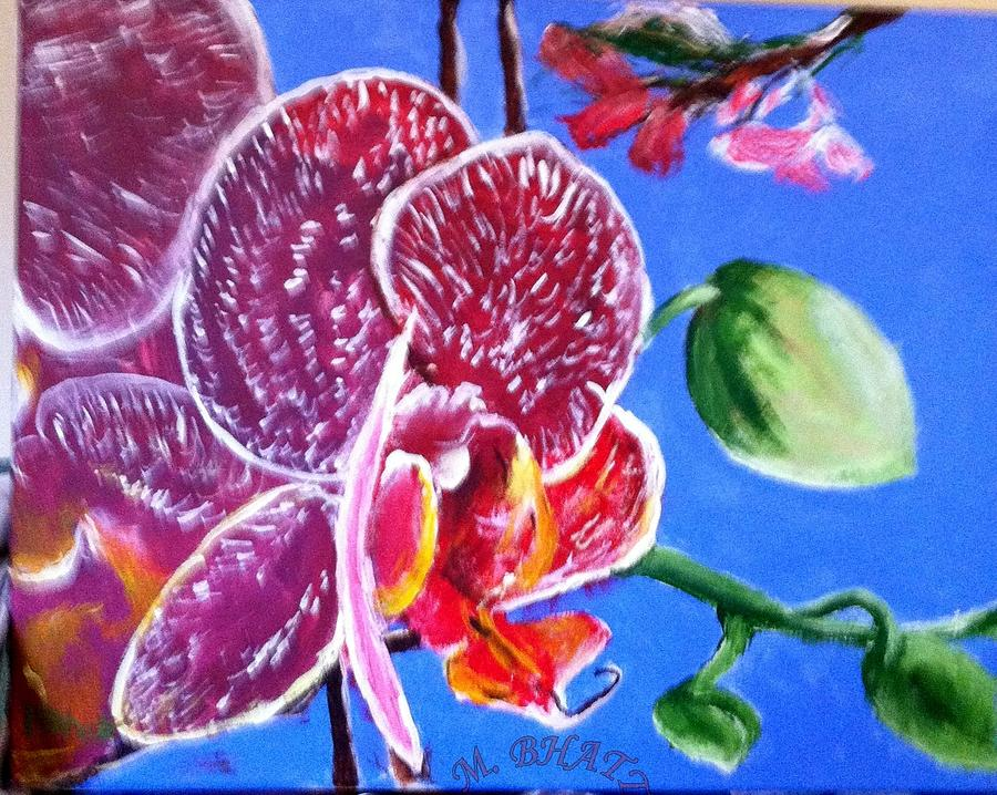 Floral Painting - Flower In Detail by M bhatt