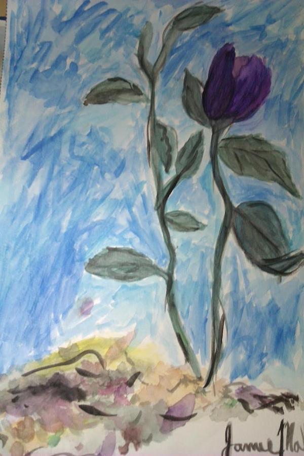Flower Painting by Jamie Mah