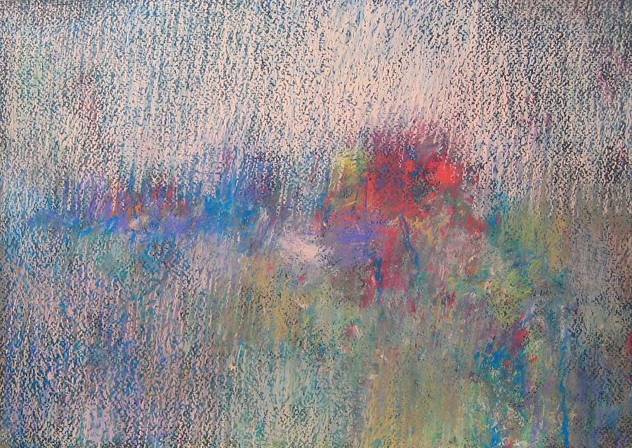 Flowers - Landscape Pastel by Vladimir Frolov