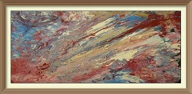 Painting - Fluid Abstract by Robert Anderson