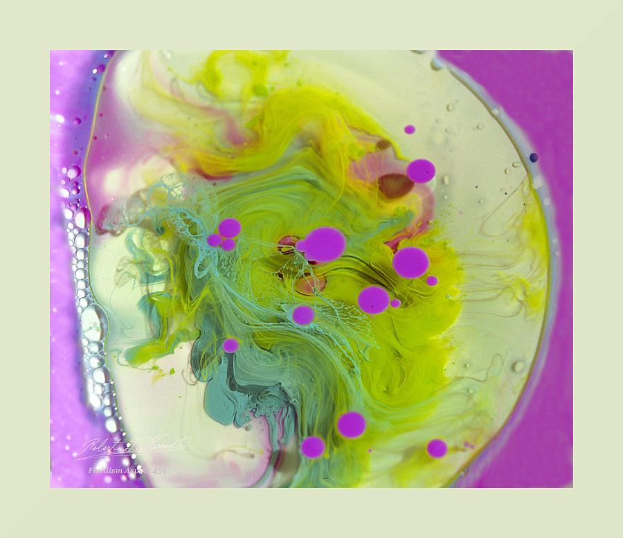Robert G Kernodle Photograph - Fluidism Aspect 459 Frame by Robert Kernodle