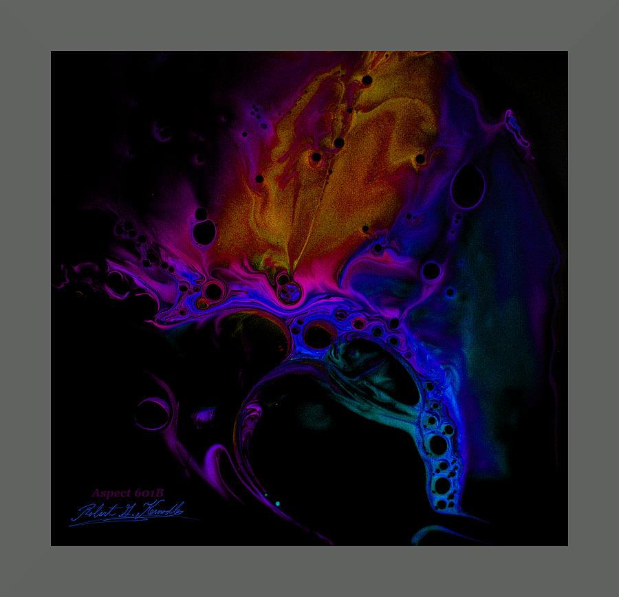 Fluid Designs Photograph - Fluidism Aspect 601-b Frame by Robert Kernodle