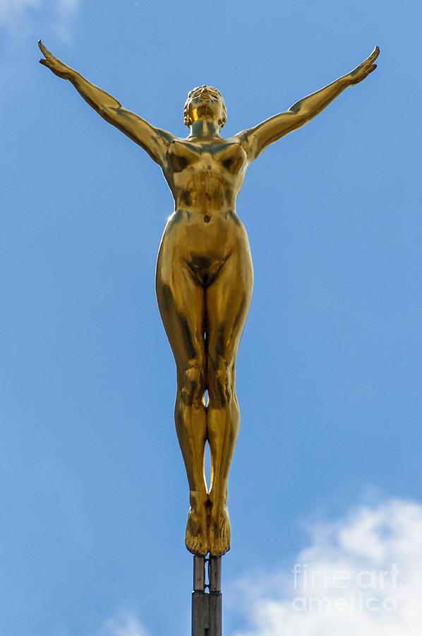 Kensington Palace Photograph - Flying Angel by Donald Davis