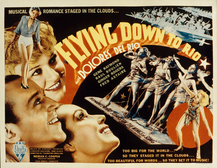 1930s Movies Photograph - Flying Down To Rio, Fred Astaire by Everett