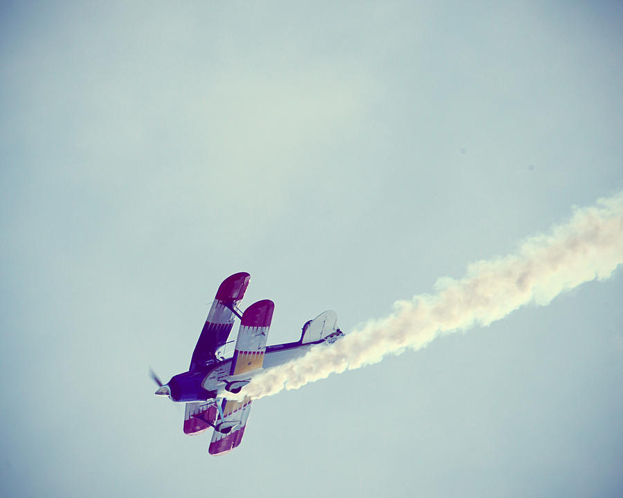 Plane Photograph - Flying High by Amelia Matarazzo