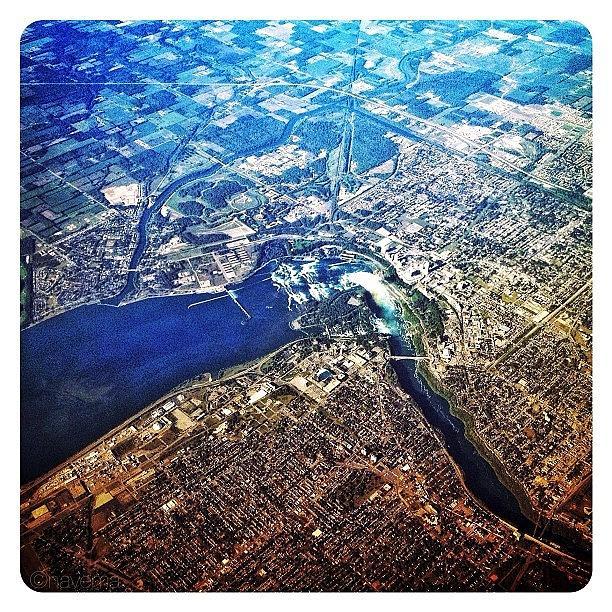 Niagarafalls Photograph - Flying Over The Falls by Natasha Marco