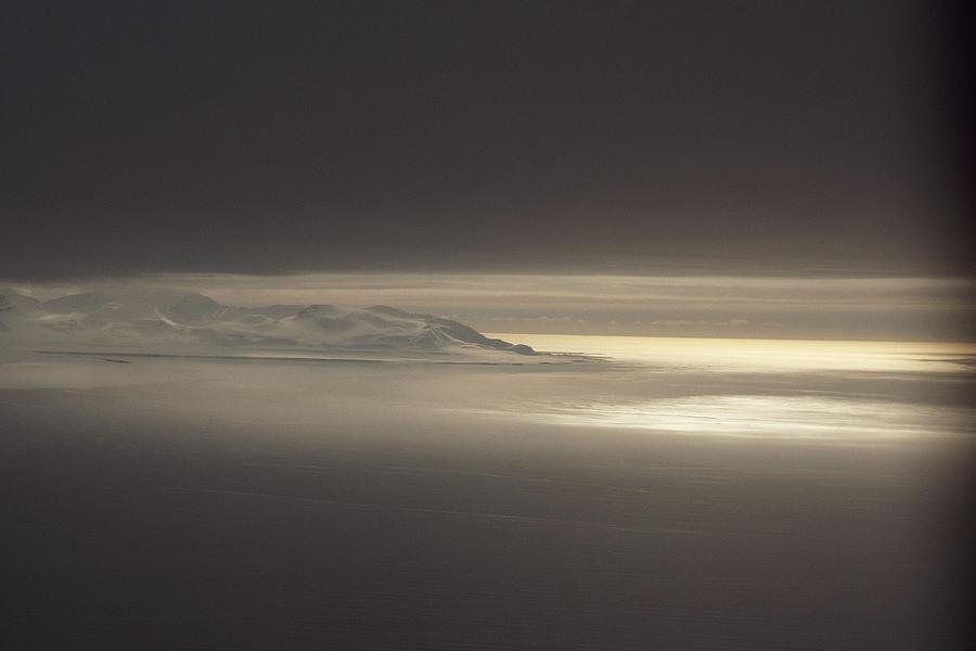 Spitsbergen Photograph - Fog And Sunlight Over Polar by Gordon Wiltsie