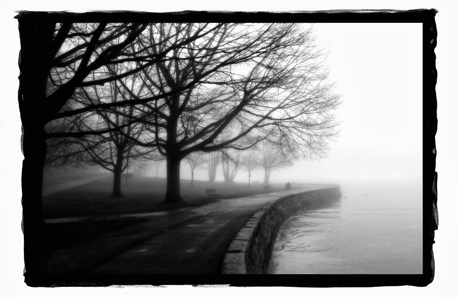 Art Pyrography - Foggy Day H-1 by Mauro Celotti