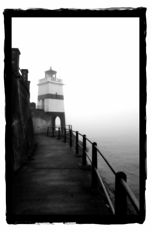 Framed Pyrography - Foggy Day V-3 by Mauro Celotti