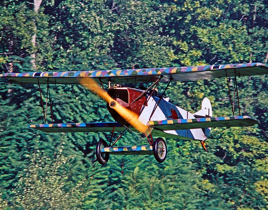 German Fighter Photograph - Fokker Dvii 02 by Jeff Stallard