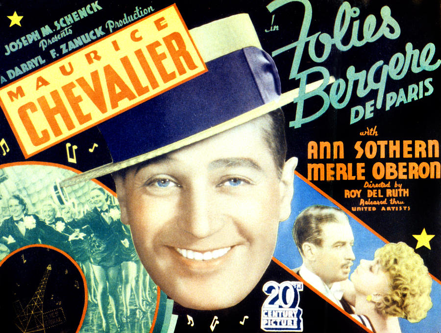 1930s Movies Photograph - Folies Bergere De Paris, Aka Folies by Everett