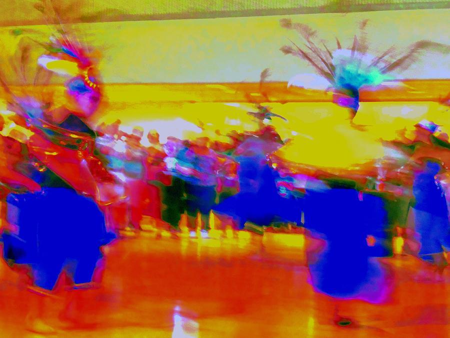 Ballet Folklorico Digital Art - Folklorico 1 by Randall Weidner
